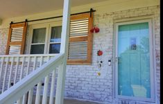 Coastal Farmhouse, Shutters, Family Room, Garage Doors, Barn, Stairs, Exterior, Windows, Outdoor Decor