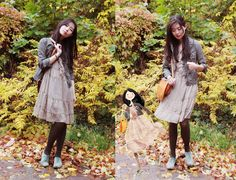 Gold Autumn. (by Nancy Zhang) http://lookbook.nu/look/1219431-Gold-Autumn