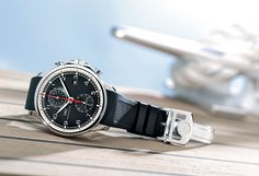 Testing the IWC Portuguese Yacht Club Chronographs at Watchtime Magazine.  Model IW356810 shown.
