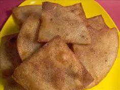 Taco Bell Crispitos Copycat Recipe Serves 6 cup Cinnamon cup Sugar 10 Flour Tortillas Oil to fry with . Copykat Recipes, Gourmet Recipes, Snack Recipes, Cat Recipes, Crispitos Recipe, Taco Bell Recipes, Strawberry Salsa, Taco Time, Mexican Dessert Recipes
