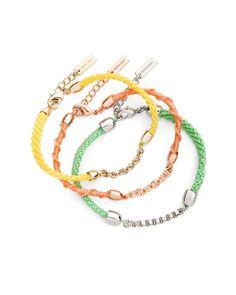 The Tangerine Dream Bracelets by JewelMint.com, $29.99