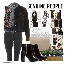 """""""Genuine-People"""" by mycherryblossom ❤ liked on Polyvore featuring Laura Ashley, Forever 21, polyvoreeditorial, polyvorestyle and Genuine_People"""