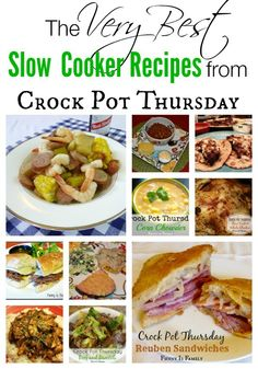 12 of the best Crock Pot recipes from over 100 tried and reviewed slow cooker dishes. These are our family's favorite recipes!