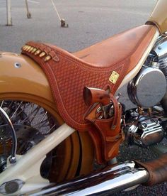 Great Seat/Holster.  Now you really have the right of way.