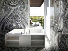 Sagaponack House - Long Island - Interior photo of bathroom - Selldorf Architects