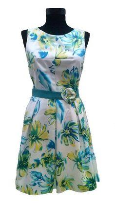 Rochie flori Coral, Rompers, Dresses, Fashion, Vestidos, Atelier, Moda, Fashion Styles, Romper Clothing