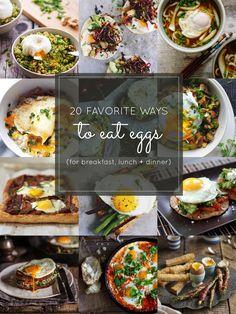 20 Favorite Egg Reci