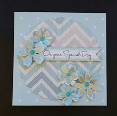 Serenity Collection by Craftwork Cards. Card made by Jane Compton