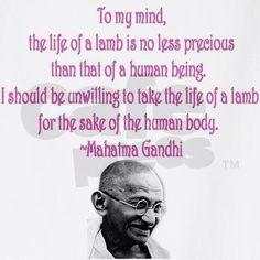gandhi vegetarian quote