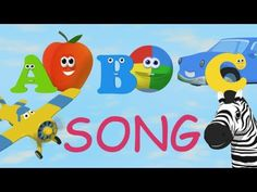 Very educational animated Alphabet Song for children teaching them not just ONE but TWO words per letter!    Your child will love this song!  Each letter has a short animation helping your child to learn letters and words in a fun way!    - Helps your child learn TWO words per letter  - Shows Consonants letters in blue and Vowels in red  - Each letter...