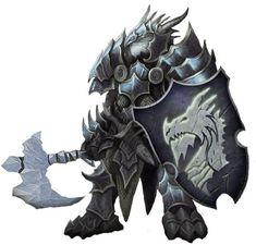 Resultado de imagem para d&d blue dragonborn paladin