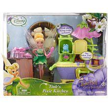 Disney Fairies 4.5 inch Doll Playset - Tinker Bell's Pixie Kitchen