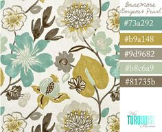 Drooling over … Braemore Gorgeous Pearl Fabric I love this color combo