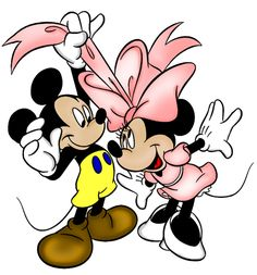 minnie mouse high resolution clipart | ... Mickey Minnie Mouse Valentine's Day Clipart --> Disney-Clipart.com