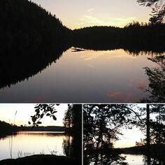 Keuruulta kotimatkalla 2 1/2 h juoksu kansallispuiston poluilla keskiyön jälkeen. Juhannusyön taikaa ja hiljaisuutta.  #trailrunning  #midsummer #magic