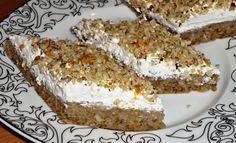 Filléres habos diós szelet – tojás nélkül! Csodás finomság, mindenki rajong érte!