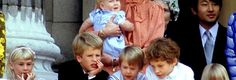 The Royal Family in 1985 Photo (C) JAYNE FINCHER , PRINCESS DIANA ARCHIVE, GETTY.For more go to http://www.viral-news.net/