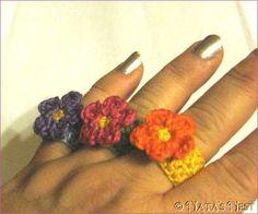Natas Nest: Blümchenring / Flower Ring - Free Pattern