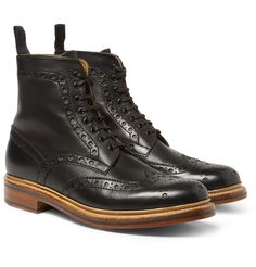 Leather Brogue Bootsfrom Grenson, over at Mr. Porter. They'd get a lot of wear during Fall.