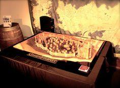 Game of Thrones en gâteau de pain d'épice