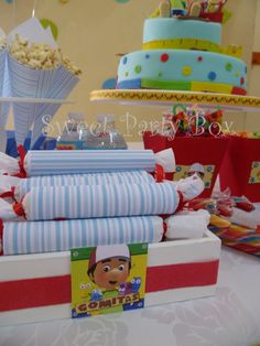 Sweet Party Box: CuMplE de SalvAdoR: Manny a la Obra (Handy Manny Party)