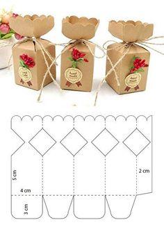 Paper box shapes – # paper box shapes – Famous Last Words Paper Gift Box, Diy Gift Box, Diy Box, Paper Gifts, Diy Gifts, Diy Paper Box, Homemade Gift Boxes, Paper Boxes, Paper Art