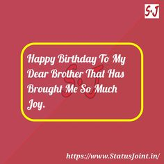 Your favorite birthday status for Friend only on status joint