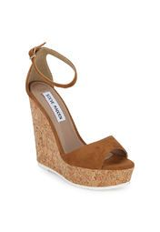Steve Madden Ocre Tan Wedges Online Shopping Store