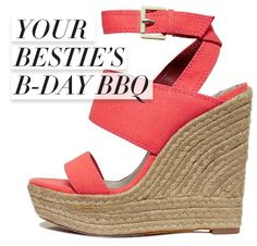Shoes fit for an outdoor fête Only on mBLOG!