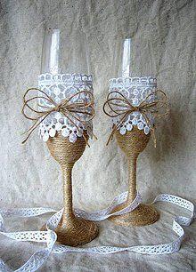 Nádoby - Svadobné poháre -