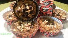 Pumpkin, Walnut & Chocolate Chip Muffins #foodforthewarrior