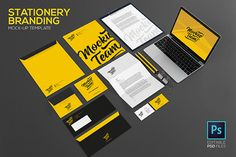 Stationery / Branding Mock-Up @creativework247
