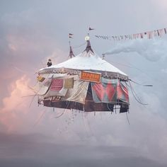 Laurent Chehere Flying House series | conundrum