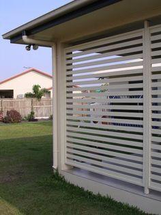 Custom Made Aluminium Privacy Screen Panels Brisbane | BarrierScreens
