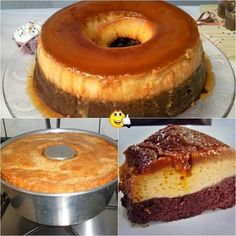 Image may contain: dessert and food My Recipes, Sweet Recipes, Cake Recipes, Dessert Recipes, Cooking Recipes, Favorite Recipes, Portuguese Desserts, Portuguese Recipes, Brownie Cake