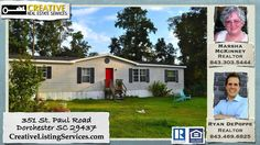 Homes For Sale in Dorchester County South Carolina | 351 St Paul Rd Dorc...