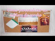 Cómo personalizar un tablero de corcho   Laila color Pon color en tu vida - YouTube