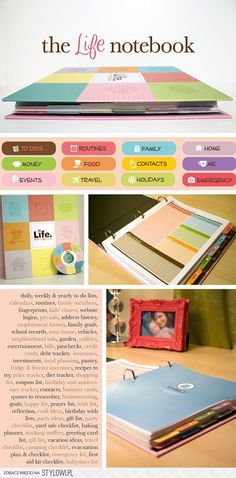 The Life Notebook - This is where I'm going with my filofax Planner Organization, Office Organization, Stationary Organization, Medicine Organization, Project Life Organization, Back To School Organization, Organization Station, Home Organisation, Office Storage