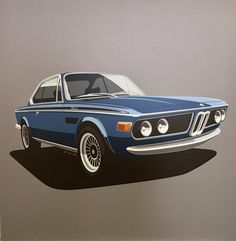 CSL Illustration | The BMW Car Club Online Shop