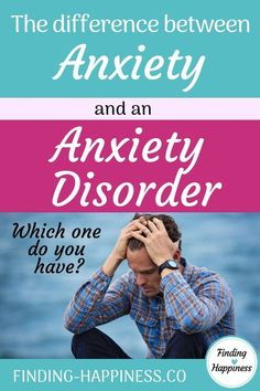 Anxiety versus and Anxiety Disorder - What one you do you have? Despite what many think, there are actually some significant differences between having general anxiety symptoms and anxiety disorder symptoms. Meditation For Stress, Meditation For Beginners, Daily Meditation, Anxiety Tips, Stress And Anxiety, Natural Remedies For Anxiety, Anxiety Remedies, Natural Cures, Natural Health