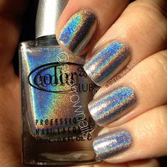 color club holo - SparrowNails, love this for the kid in us :)