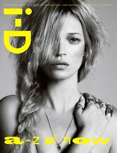 #English #model #KateMoss for i-D Magazine Spring 2013