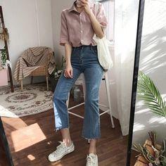 New dress classy casual fashion ideas Korea Fashion, Asian Fashion, Look Fashion, Trendy Fashion, Fashion Outfits, Womens Fashion, Dress Fashion, Fashion Rings, Fashion Ideas