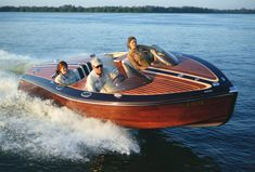 Classic Style Wooden Boats