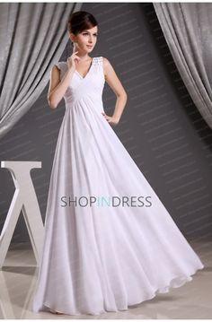 white dress #white #prom #dresses #sexy #fashion