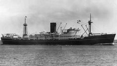 MS Changsa, built by Scotts Shipbuilding & Eng at Greenock for China Navigation Co(a wholly owned subsidiary of Swires) launched 02/11/48, with her maiden voyage from Melbourne to Asia on 23/07/49. 7,412GRT, 440ft length, 57ft beam 7 23.7ft draught. carrying 82 1st class & 70 3rd class passengers, her single screw powered by Doxford Diesels gave her a service speed of 15kts. Sold in '69 to Singapore based Pacific International lines & renamed MS Kota Panjang. Scrapped at Karachi in '81