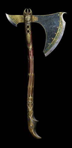 God of War: Leviathan Axe max upgrade Kratos God Of War, Armes Concept, Kratos Axe, Talisman, Battle Axe, Medieval Weapons, Weapon Concept Art, Fantasy Weapons, Knives And Swords