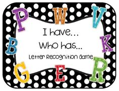 Help students learn their letters with this fun and simple game!...  FREE
