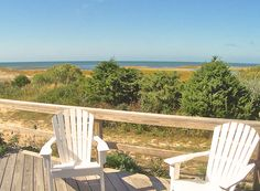 It has a beautiful location, right on a private sandy neighborhood beach. The yard and screened porch facing the Bay are extremely private and unusually secluded for a home right on the beach like this one. The elevated screened porch is the home's centerpiece, with its commanding views of the beach and Bay. It's really special to relax on that porch and listen to the waves lapping on the shore below.   Picky Properties 29-O in Orleans.