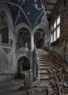 Abandoned Places: Miranda Castle in Namur, Belgium if I was ric enough I'd restore these places